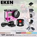 """2016 Hot Ultra HD 4K WIFI Sport Action Camera EK EN H8R with remote control Dual Screen 2"""" LCD Waterproof Helmet MINI Camcorder"""