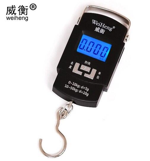 Portable échelle portable printemps balance électronique de haute précision balance suspendue 50 kg dans Salle de bains Échelles de Maison & Jardin