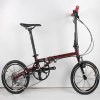 Ultra light 9 speed chrome molybdenum steel folding bike High quality Cost effective bicycle Retro travel driving leisure BMX