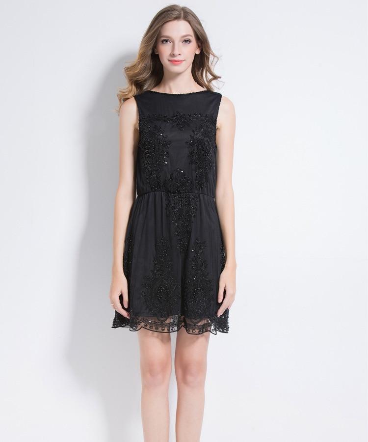 Robe d'été Zanzea Plus La Taille Europe Et en Amérique 2018 Printemps Tempérament Nouvelle Mode Sexy Profonde V Pur Couleur Taille Sequin robe