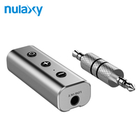 Nulaxy Bluetooth Receiver 3 5mm Jack Bluetooth Audio Music Wireless Receiver Adapter Car Aux Cable Free