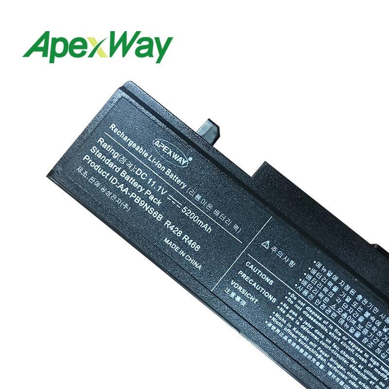 Apexway 11.1V RV520-batteri för Samsung AA-PB9NC6B AA-PB9NC5B - Laptop-tillbehör - Foto 5