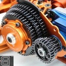 GTB 3 Скорость передачи системы комплект с пластиковой крышкой шестерни для 1:5 HPI KM ROVAN Baja 5B 5T 5SC RC автомобиль Обновление части