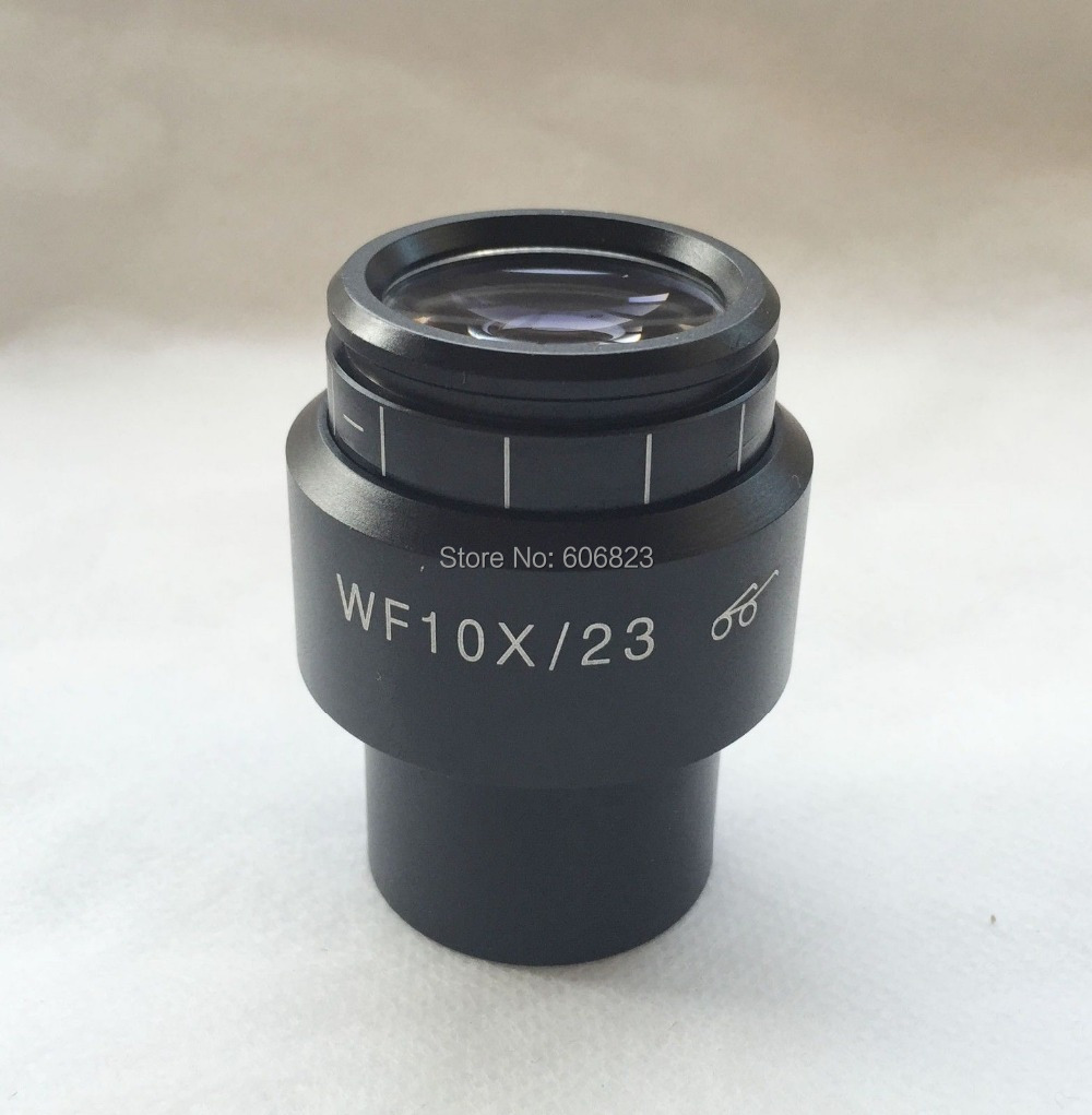 One Microscope Diopter-adjustable WF10X / 23 Eyepiece w/ Eyeguards 30mmOne Microscope Diopter-adjustable WF10X / 23 Eyepiece w/ Eyeguards 30mm