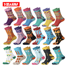 YEADU 2019 New Colorful Women&Men's Socks Harajuku Streetwear Kawaii Funny Cute