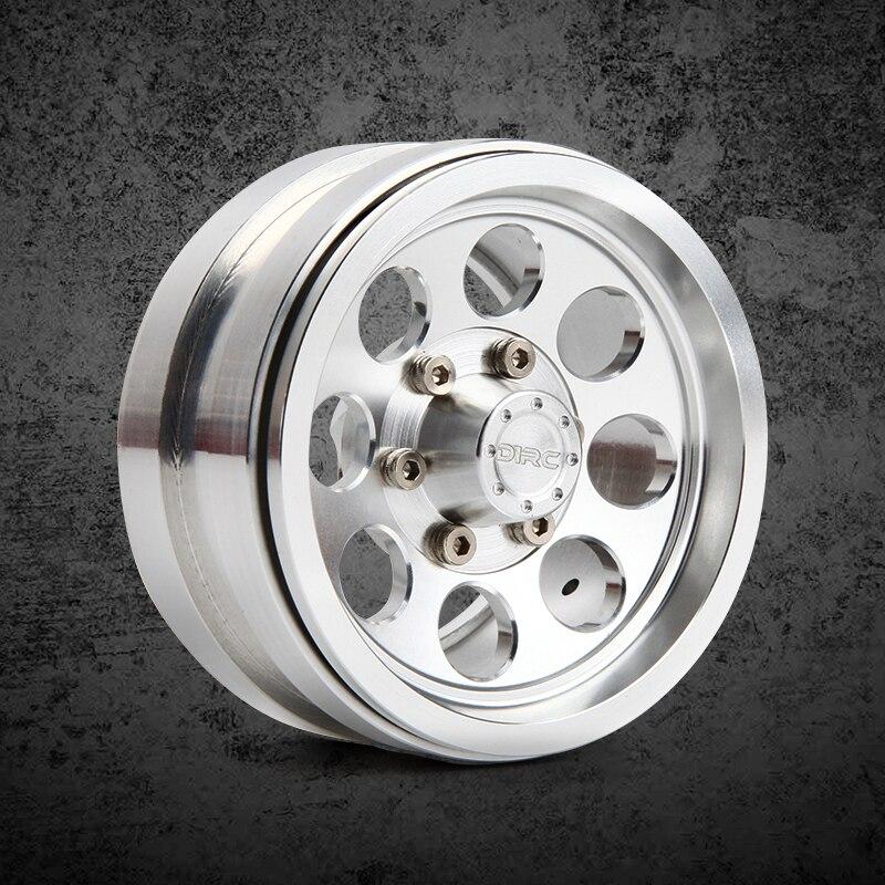 4 pz metallo di Alta qualità da 1.9 pollici ruote Hub per 1/10 RC Crawler Auto Traxxas TRX4 Ford Bronco D90 D110 assiale Scx10 90046 RC4WD