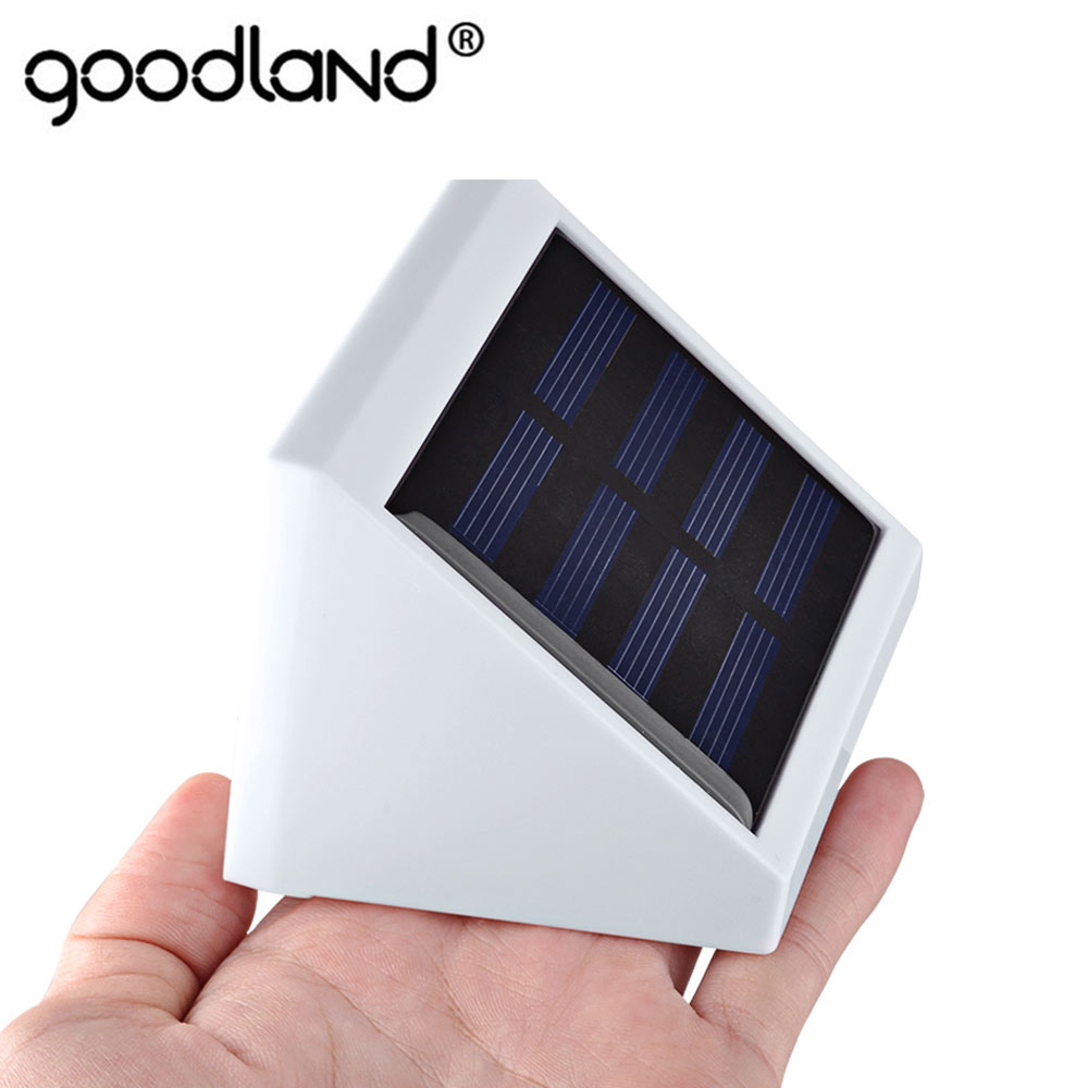 LED Garden Solar Light Outdoor IP65 LED Solar Lamp Light Control Solar Powered Wall Lamp For Yard Patio Lighting luminaria luz led solar garden light lamp with 40 lights solar powered led wall light outdoor lighting free shipping