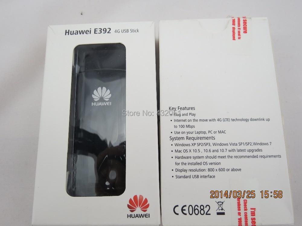 Huawei E392-12 100Mbps 4G LTE USB Stick Modem K5005 E372 E398 TS9 huawei e392 12 100mbps 4g lte usb stick modem k5005 e372 e398 ts9
