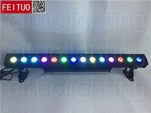 (4 лот/CASE) открытый линейные светодио дный шайбы стены 14 шт. 30 Вт rgb 3in1 матрица светодио дный свет 30 Вт 14 шт. светодио дный стены шайба света кейс