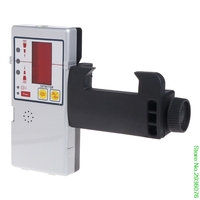 New Arrive 635nm Compatible Red Beam Leveling Cross Line Laser Receiver Detector with Clamp Drop Shipping Support