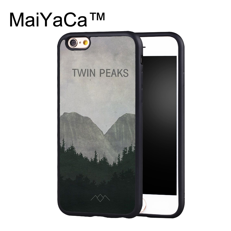 MaiYaCa Twin Peaks DESIGN Phone Case for iPhone 6 6s Plus Capa Fundas Case for iphone 6s plus Back Protection Shell