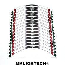 16 X Thick Edge Outer Rim Sticker Stripe Decals FIT HONDA MSX 125