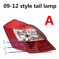 Luzes traseiras do carro direito esquerdo  luzes traseiras  luz de freio  original para geely emgrand 7  ec7  ec715  ec718  emgrand7  e7 Pistões  anéis  hastes e peças Automóveis e motos -