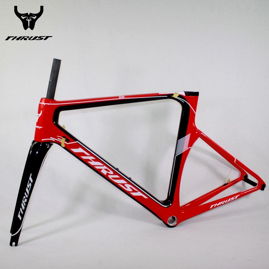 ₪Carbon Road Frame Road Bicycle Frame set Fork Headset Seat post ...