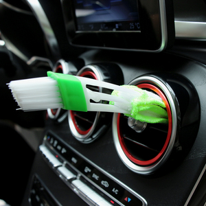 Car Cleaning Brush for Ford Focus 3 Volvo Fiat 500 Punto Peugeot 207 Opel Astra g h Insignia Renault Megane 2 Clio Duster Skoda(China)