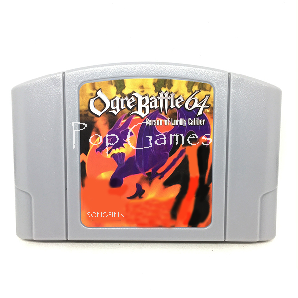 Save Ogre Battle English Language for 64 bit NTSC Video Game Console