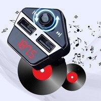 Nuovo Posizionamento di Gps Bluetooth MP3 Con APP Che Trovano Auto Universale Doppia Porta USB Adattatore del Caricatore Per Il Cellulare Accessori Auto