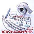 """Kinugawa Rolamento De Esferas GT3582R Turbocompressor Boleto AR.57 T3 3 """"V-Band para TOYOTA 1JZ-GTE 2JZ-GTE"""