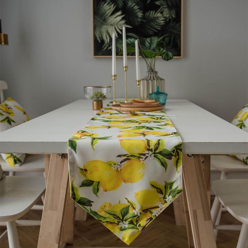 Lemons Table Runner Best Children's Lighting & Home Decor Online Store