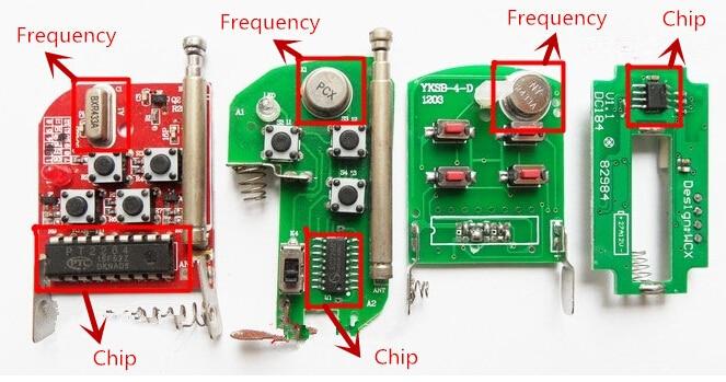 HTB1kEMVffjM8KJjSZFNq6zQjFXaP SieNSen Face to Face Copy 3 Buttons 315/433MHZ Cloning Garage Door Remote Control Wireless Transmitter Portable Duplicator DK051