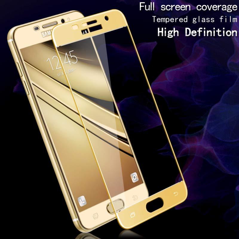 Untuk Samsung Galaxy A5 2017 tempered kaca Imak Fullscreen film - Aksesori dan suku cadang ponsel - Foto 2