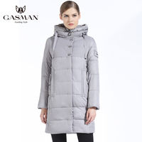 2018 Winter Women Bio Down Jacket Brand Coat Long Winter Coat Women Hooded Down Parka Fashion Jacket New Winter Collection 2018