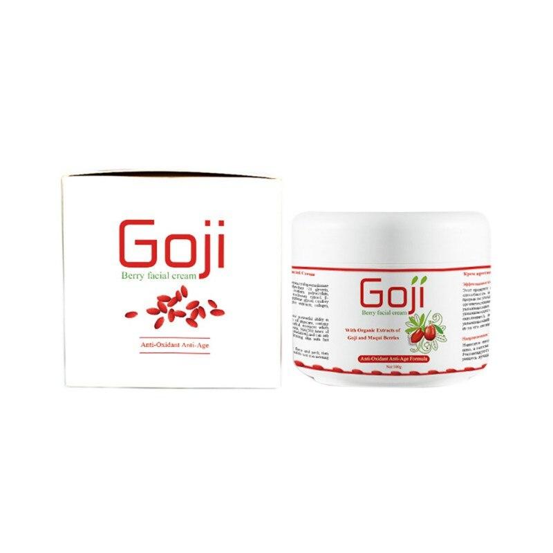Hot Chinois Goji Hyaluronique Acide Goji Néflier Multi Effet Anti Rides Inhiber L'activité De La Tyrosinase Crème Pour Le Visage