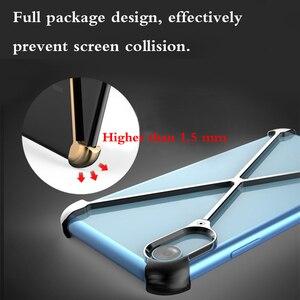 Image 3 - Thermorytic 모델 X 케이스 휴대 전화 로즈 골드 알루미늄 안티 가을 금속 핸드폰 쉘 블랙 없음 프레임 보호 커버