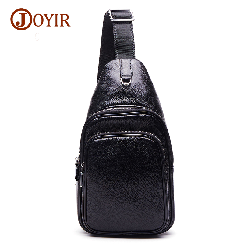 Joyir 2017 fashion genuine leather crossbody bags for men casual messenger bag small brand designer male shoulder bag 6326