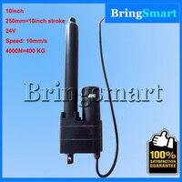 Длина хода 250 мм (10 дюймов) линейного привода 24 В с 4000N (400 кг) и скоростью 10 мм/сек. линейный привод постоянного тока двигателя
