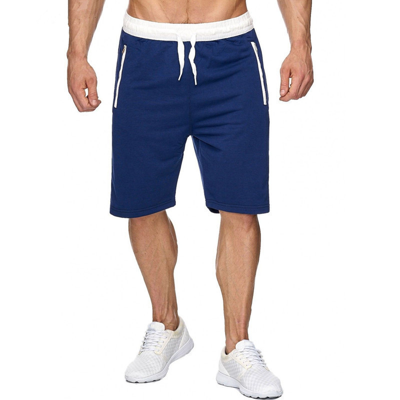 2019 New Shorts Men's Hot Casual Beach Shorts Men's Quality Bottoms Elastic Waist Fashion Brand Sports Training Shorts