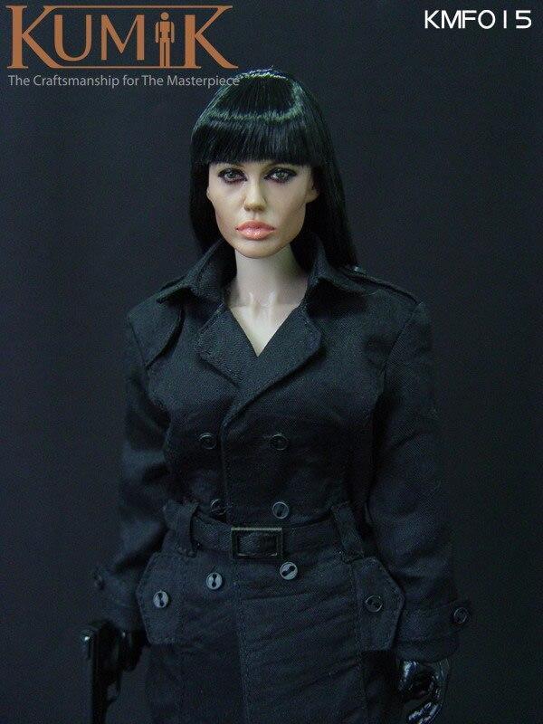 kumik KMF015 1:6 Secret Sauter Female killer Angelina Jolie12inch Female warrior doll , With set of doll Model цена 2017
