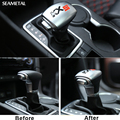 AT For KIA Sportage QL 2016 2017 Cear Shift Knob Stickers ABS Chrome Holders Internal Decoration Auto Accessories Car-styling