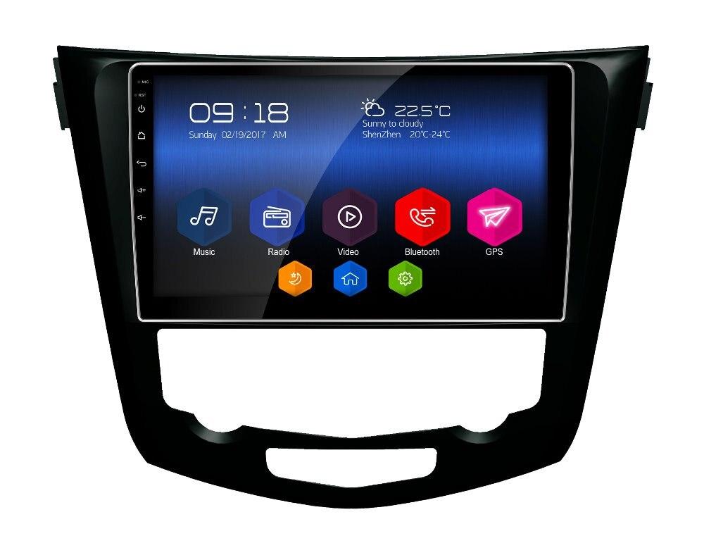 latest otojeta car DVD player headunit tape recorder for Nissan Trail Dualis 2013 radio stereo android 6.0 gps navi multimedia