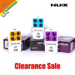 Image 3 - NUX Mod unidad de fuerza coro Core Flanger Core fáser Core pedal de efectos para guitarra envío gratis