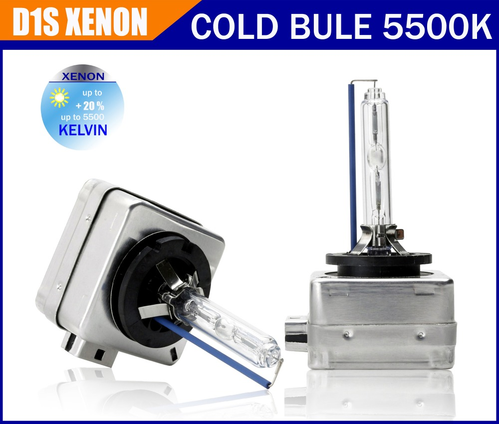 Free shipping 100% OEM 2 pcs D1S Xenon HID 4300K 5500K warm white ,cold white, bulb lamp headlight with color box with original box 1pcs d2r oem original hid d2r xenon bulb for cars 4300k 5500k warm white cold white