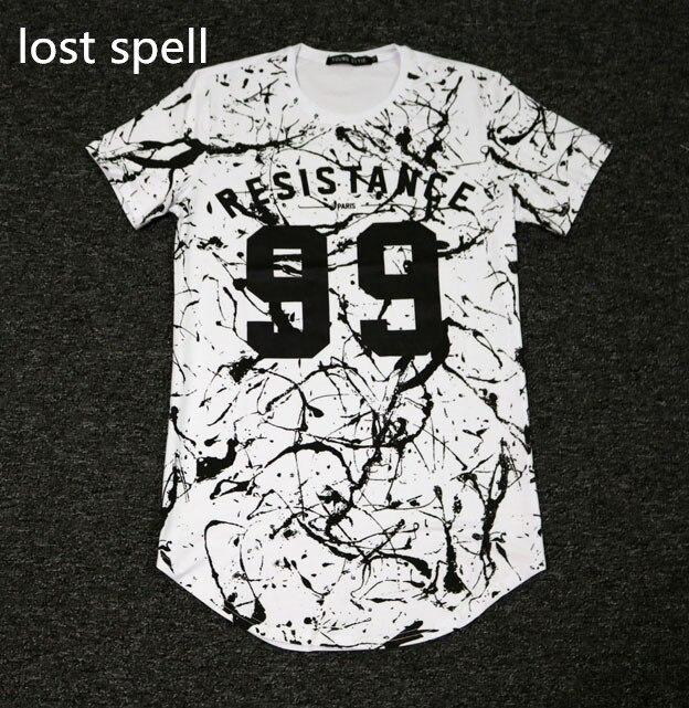 2017 Kanye West Hip Hop Rich Gang t-shirt Men Dance Swag Tee Shirts DJ Streetwear tshirt Mens High Street Modal Clothes