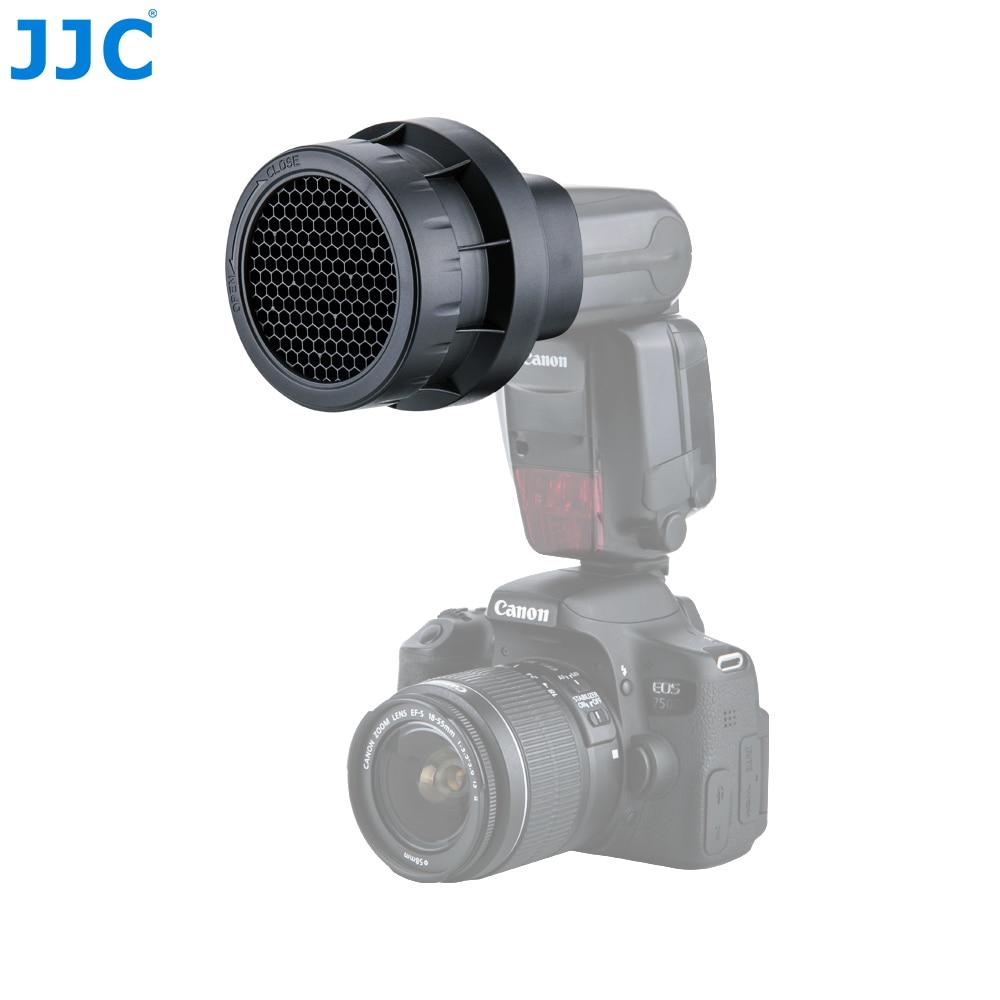 JJC Flash Lumière En Nid D'abeille Grille Photographique Flash Photo Studio Accessoires pour CANON 580EX II/600EX RT/YONGNUO YN-600EXII