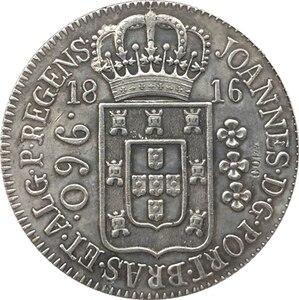 1816 Бразилия 960 Reis КОПИЯ монет