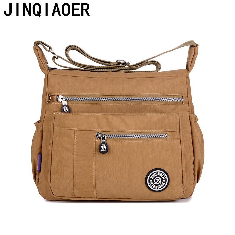 New Women Shoulder Bags Fashion Nylon Handbags Casual Travel Messenger Bags For Girls Bolsos Waterproof Female Crossbody Bags women messenger bags waterproof nylon crossbody bags for women shoulder bags travel handbags sac bolsa purse female handbags