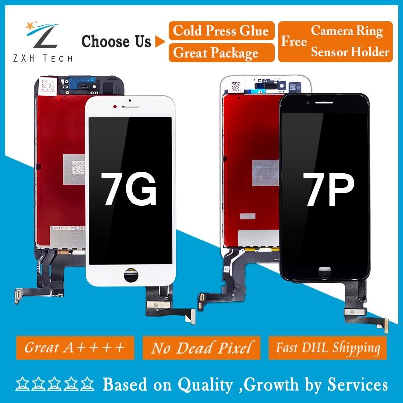 3PCS LOT A For iPhone 7 7G 7 plus LCD Pantalla Ecran for iphone 7