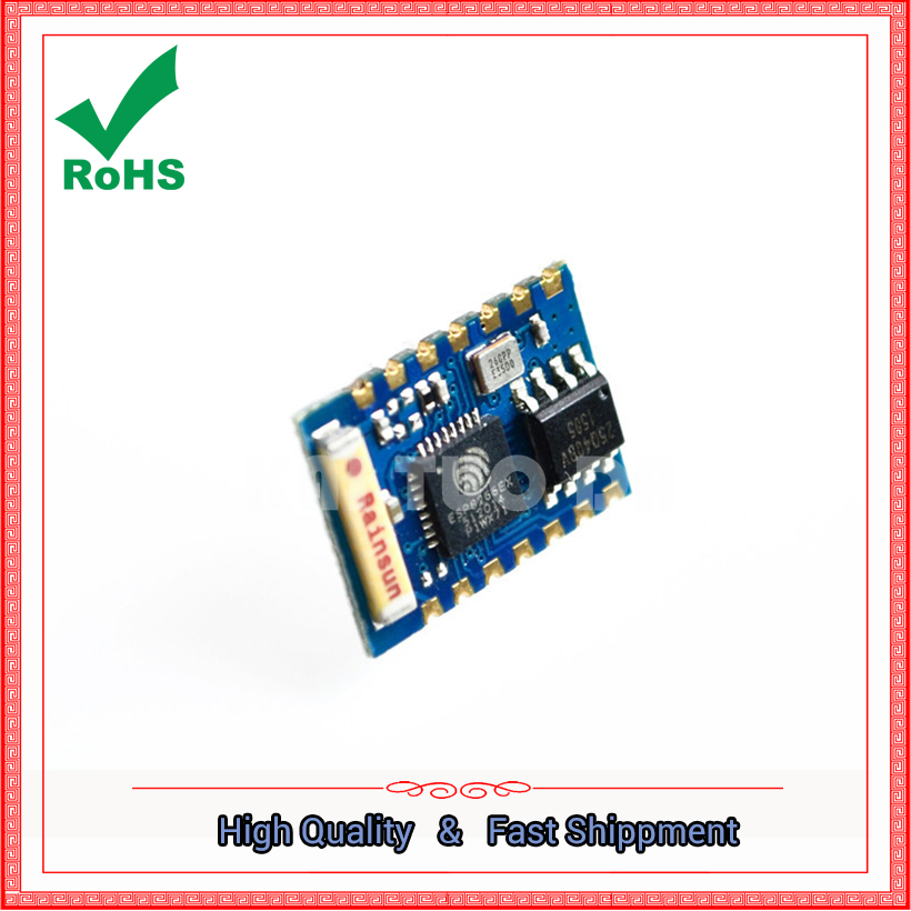ESP8266 serial port WIFI industry milestone Model: ESP-03 module board
