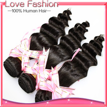rosa hair products burmese virgin hair deep wave 3 pcs lot burmese human hair, cheap 100g deep wave hair extension