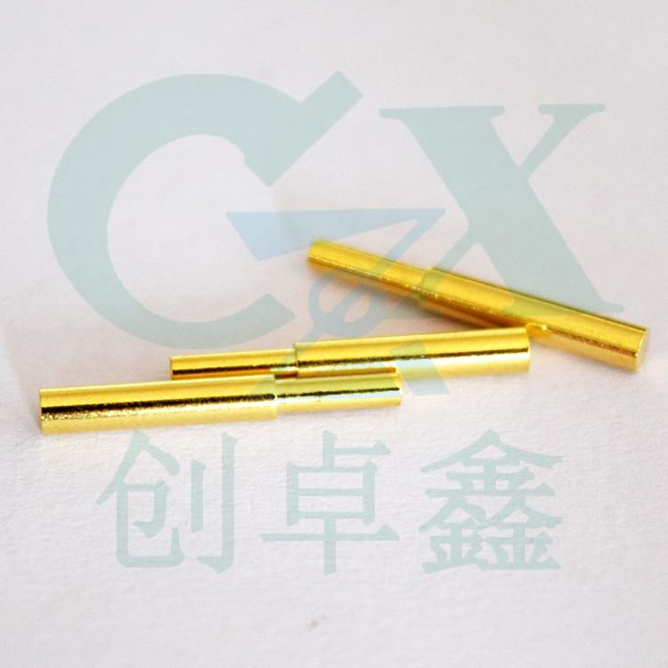 2.0*14.5 мм женские длинные Пробник золотое покрытие контактов pogo контактный разъем