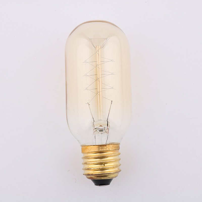 Buy Incandescent Bulb E27 40w Ac 110v T45 Tungsten: Aliexpress.com : Buy 4PCS 40W T45 Spiral Edison Bulb
