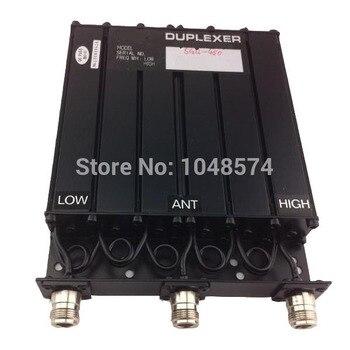Вт Бесплатная 450 мГц 30 Вт UHF Duplexer 6 полости N разъем для радио ретранслятор