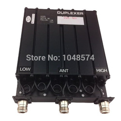 Free shipping 450MHz 30W UHF Duplexer 6 Cavity N Female connector for radio repeater