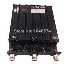Livraison gratuite 450MHz 30W UHF duplexeur 6 cavité N connecteur femelle pour répéteur radio