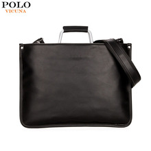 Men Briefcase Bag High Quality Business Famous Brand Leather Shoulder Messenger Bags Office