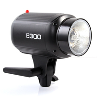Godox E300 300 Вт Фотография Студия Строб вспышка свет лампы вспышки света лампы Глава 300WS 110 В/220 В флэш Аксессуары